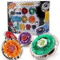 ingrosso beyblade gioca i set-Spedizione gratuita 1 pezzo Beyblade set spin top toy, super battle Beyblade metal fusion