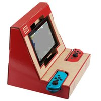 Wholesale Arcade Game Toys - Foldable Stand Labo DIY Cardboard Creations Game Holder Kit Toys for NS Switch Paper Arcade Bracket
