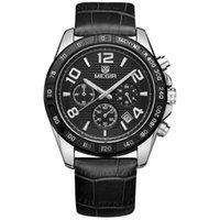 часы наручные оптовых-Мужские часы мужские часы Трехглазый многофункциональный водонепроницаемый спорт