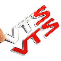 Wholesale Sports 3d Car Sticker - 3D VTS Car Sticker Logo Sticker Emblem Badge Car stickers For Citroen C2 C3 C4 C5 Saxo Xsara Sports Stickers OOA4976