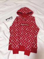 Wholesale fan sweaters - 2018 guucci supremc Mens hip hop hoodies famous design sportswear high quality Cruz Backham vogue men and women coats casual fans sweater