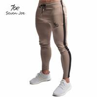 f87fada89ca Seven Joe Men Joggers Brand Male Trousers Casual Pants Sweatpants Jogger  Black Casual Elastic cotton GYMS Fitness Workout pants