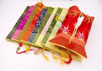 ingrosso nodo di giada-A buon mercato Jade nodo cinese Tissue Case rettangolare Patchwork Tessuto di seta Nappa Artigianato decorativo Rimovibile Kleenex Scatole Coperture