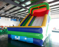 Wholesale inflatable rentals for sale - Group buy PVC inflatable slide land dry slide bouncer for kids rental use indoor and outdoor free ocean shipping