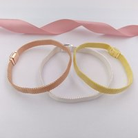 Wholesale pandora bracelets online - New Sterling Silver Reflex Bracelet Fits European Pandora Style Jewelry Charms Beads