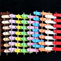 заборный горшок оптовых-Горячие продажи красочные DIY горшок завод забор деревянные бонсай ремесло микро пейзаж мини бамбук забор t3i0101
