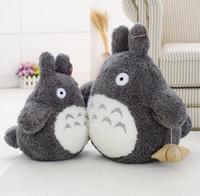Wholesale miyazaki plush online - Plush Toy Cartoon Stuffed Animal cm Cartoon Cute Hayao Miyazaki Totoro Doll Plush Toys Kids Toys Christmas Gifts