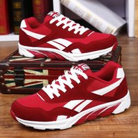 Wholesale trendy male shoes - Spring autumn casual shoes for men Big size 39-47 sneaker trendy comfortable mesh fashion lace up Adult Male shoes zapatos hombre