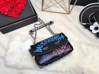 ingrosso borsa a tracolla in nylon-Borsa del progettista della borsa del cuoio dell'unità di elaborazione del progettista della borsa delle donne del progettista della spalla della spalla della catena delle borse del progettista di lusso del BAL