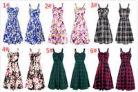 Wholesale maternity clothes online - Broken Flower Full Print Women Summer Dresses Knee Length Floral Sling Dress Tube Dress Women Clothes Maternity Dress