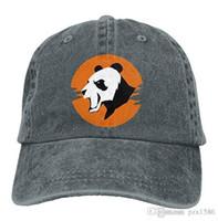Wholesale panda hat men for sale - Group buy pzx Baseball Cap for Men Women Panda Face Women s Cotton Adjustable Denim Cap Hat Multi color optional