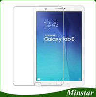 Wholesale 15 inches tablets online - Clear Tablet Screen Protectors Tempered Glass For Samsung Tab E Inch T377 T378 TabE Lite SM T113 Tab3 T110