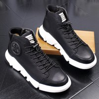 Wholesale British Matches - liqian168 spring and autumn men's shoes real leather British boots men all-match cowhide Martin boots breathable male casual shoes