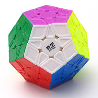 Wholesale Megaminx Cube - QiYi Megaminx Magico Cubo Speed Puzzle Cubes Kids Toys Educational Toy