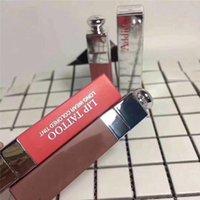 Wholesale Colored Tattoos - Famous brand Addict LIP TATTOO Lipgloss Matte Liquid lipstick Long-wear colored tint