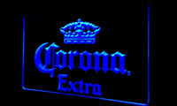 Wholesale customized neon signs - F145 Corona Extra Beer Bar Pub cafe NEW 3D LED Neon Light Sign Retail and Dropshipping Wholes 8 colors Customize on Demand