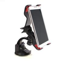 держатели для чашек держатели gps оптовых-Автомобильный GPS стенд с присоской лобовое стекло большой Клипер смартфон мобильный держатель большой подарок для автомобиля аксессуары для интерьера
