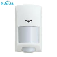 sensor de pir e câmera de segurança venda por atacado-Original broadlink s1 pir motion sensor wifi controlado 433 mhz sem fio infravermelho anti-roubo para home security s1 sistema de alarme