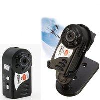 câmara de vídeo exterior dv venda por atacado-Mini Câmera Filmadora Wi-fi Câmera IP Portátil de Visão Noturna Super Mini DV Câmera de Segurança Gravador de Vídeo de Segurança Para IOS / Android PC Vista Remota Q7