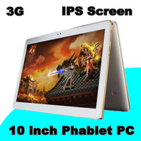 Wholesale tablet 16gb 5mp online - 10X Arrival Inch Tablet PC MTK6582 Quad Core Android Tablet GB RAM GB ROM mp IPS Screen GPS G phone Tablets E PB