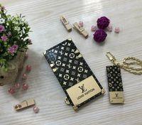 telefon fall marken großhandel-Designer-Telefonkasten für IphoneXSMAX XR XS Iphone7P / 8P Iphone7 / 8 6P / 6sP 6 / 6s Modemarke Full Cover Luxus Telefon Fall mit Schutzfolie