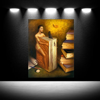 Wholesale canvas oil paintings dali for sale - Group buy salvador dali eserleri gala Home Modern Abstract Canvas Oil Painting HD Print Wall Art Decor for Living Room Home Decoration Framed Unframe