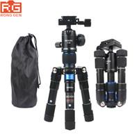 câmara de vídeo tripé bola venda por atacado-Tripé BEXIN M225S ULTRA COMPACTO Desktop Macro Mini Tripé Kit com Cabeça De Bola Para DSLRs compactos e filmadoras na área de trabalho