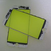 moldura do digitalizador médio venda por atacado-2em1 Original Tela LCD Digitador Painel Lente de Vidro + Frame Médio Imprensa Fria Rplacement para o iphone 7 7 plus