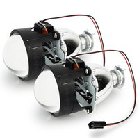 proyector 2.5 al por mayor-WST Auto de 2.5 pulgadas Bixenon HID lente del proyector lente bi xenón H4 H7 H1 H11 H11 9005 9006 linternas del proyector bi-xenón luz