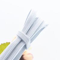 8mm 10 Cavo Piatto Elastico Bianco Premium Grade Stretch Cord 5 METRI