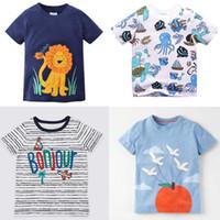 7403ce0b Wholesale girls t shirt lion for sale - 14 style kids clothes T shirt Boys  girl