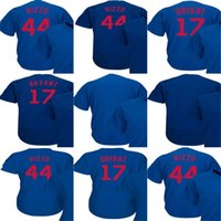 Discount royals jerseys - New Arrival Chicago Mens Womens Kids Toddlers 44 Rizzo 17 Bryant Royal 2018 Spring Training Flexbase Coolbase Baseball Jerseys Accept Custom