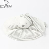Wholesale towel teddy bear for sale - Group buy 25CM Baby Plush Toy Bear Scarf Handkerchief Appease Towel Rattles Crap Doll Animal Sleep Comfort Doll For Calm Towel Educational
