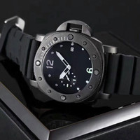 Wholesale Luminous Watches For Men - Famous luxury brand Designer men's watch Luminous 47mm dial fashion male quartz watches for man Valentine Gift Waterproof wristwatches 2018