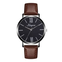 мужские наручные часы оптовых-Top  Mens Watches Women Ladies Big Dial Silver Fashion Casual Quart Wristwatch Chronograph Male Clock High Quality