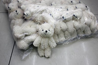ingrosso peluche farcito ted-50PCS / LOT Kawaii Small Joint Teddy Bears Peluche ripiene con catena 12CM Toy Teddy-Bear Mini Bear Ted Bears Giocattoli peluche Regali di Natale gif