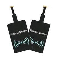 universelle qi wireless ladegerät empfänger großhandel-Qi Wireless Charger Charging Receiver Module Aufkleber Ladeadapter für IPhone X 7 5 5C 5S 6 6S Plus für Samsung Android iPhone Universal