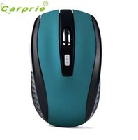 portátil de color azul al por mayor-CARPRIE Professional Gaming Wireless Mouse Optical 2000 DPI Computadora USB Juego Ratones para PC portátil de escritorio Jan17