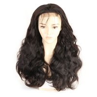 Wholesale body wave wig cap hairstyles online - Body Wave Density Middle Part x4 Lace Front Wigs Natural Color Light Bleach Knots Lace Wigs Swiss Lace Cap Pre Plucked Natural Hairline