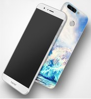 Wholesale Polish Marble - 1214-78 dull polish back case for Huawei P9,coral marble pattern back cover for Huawei P9