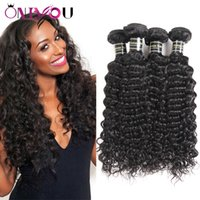 Wholesale ordering human hair for sale - Group buy Brazilian Deep Wave Human Hair Weave Bundle Deals Unprocessed Brazilian Virgin Hair Deep Culry Remy Human Hair Extensions mix order