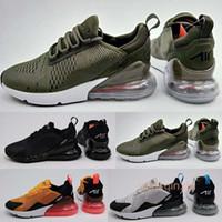 Wholesale Nano Green - Wholesale Mens 270 Flair Triple White Black Nano Kpu Trainer 27c Running Shoes Womens Training 270 Sports Sneakers Size 36-45