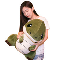 Wholesale giant christmas presents for sale - Group buy Dorimytrader Big Anime Dinosaur Plush Toy Giant Soft Cartoon Dinosaurs Stuffed Pillow Kids Play Doll Present inch cm DY61529