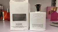 Wholesale Creed Silver - Top Quality 120ml Creed Silver Mountain water Perfume for Men With Long Lasting High Fragrance Good Quality