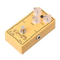 gitarlar için efektler toptan satış-Belcat FUZ-610 Gitar Bas Fuzz Ton Seviyesi Etkisi Pedal (Ture Bypass)