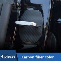 Car Door Lock Cap Cover Protection Waterproof Case 4pcs For Mercedes Benz New C class W205,GLC X253 2015-17