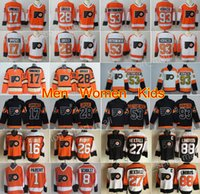 Wholesale hockey flyer - Philadelphia Flyers Jersey Hockey 53 Shayne Gostisbehere 17 Wayne Simmonds 28 Claude Giroux Jakub Voracek Ivan Provorov Konecny Eric Lindros