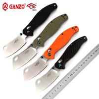 Wholesale ganzo knives carbon fiber online - Firebird Ganzo F7551 C blade G10 or carbon fiber handle folding knife tactical knife outdoor camping EDC tool Pocket Knife