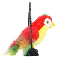 Wholesale Bird Toys Parrot - ABWE Best Sale Talking Parrot Imitates And Repeats What You Say Kids Gift Funny Toy