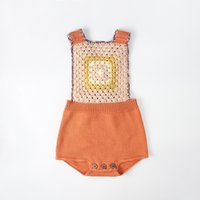Wholesale diagonal knitting online - Knitted romper hot selling INS spring autumn new INS style kids sleeveless diagonal back straps knitted sweater romper colors